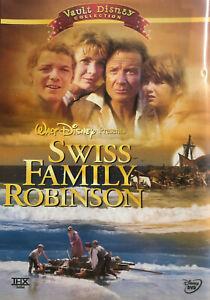 Swiss Family Robinson DVD 2 Disc - 1960 Disney Region 1 Digitally Mastered