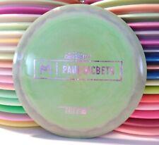 Discraft Paul McBeth Prototype Swirly Esp Zeus Disc Golf Distance Driver 174.4g