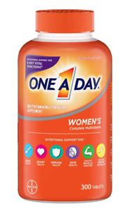One A Day Women's Multivitamin, 300 Tablets NEW EXP: 07/2022