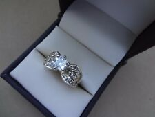 14K YELLOW GOLD 3 ROW 1.45 TCW ROUND BRILLIANT DIAMOND SOLITAIRE ENGAGEMENT RING