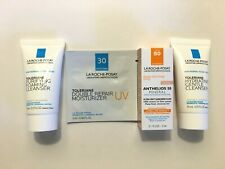 La Roche-Posay Toleriane Cleanser Duo with Anthelios 50 Sunscreen Travel Set
