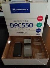 Vintage Motorola DPC 550 Flip Phone with Original Box and Paperwork -