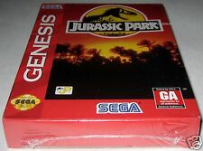 Jurassic Park (Sega Genesis) ~ NEW / SEALED