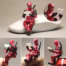 New Marvel Legends Universe X-Men Deadpool Mini Sitting Posture Figure 7cm NoBox