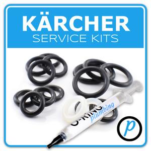 KARCHER Pressure Washer Full O Ring Seal service kit + OPTIONAL GREASE