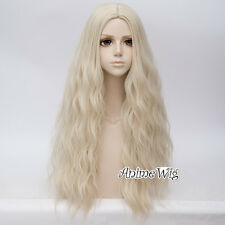 Party Ombre 78cm Heat Resistant 28 Colours Curly Long  Anime Women Cosplay Wig