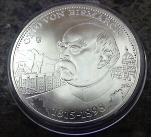 Medaille Otto von Bismarck 2015