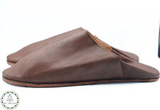 Sheepskin house slippers Leather Morocco men's moccasins Moroccan babouches