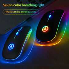 Wireless Optical Mouse 2.4GHz Mice Bluetooth For PC Mac Android IOS LaptopTablet