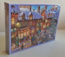 Jigsaw Puzzle 1000 Pieces Christmas Street Scene Studio Retail NEW Sealed.