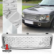For 2003-2005 Range Rover HSE {AUTOBIOGRAPHY STYLE} Chrome Bumper Grille Grill
