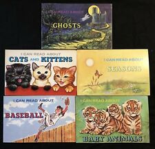 """Vintage """"I Can Read About..."""" Book Lot (5) by Troll - 1973 & 1975 - Ships FREE"""