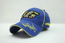 Racing Valentino Rossi The Doctor 46 Moto GP Motorcycle Baseball Hat Peaked Cap