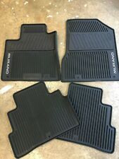 NEW OEM 2019-2020 NISSAN MURANO BLACK 4PC RUBBER ALL WEATHER FLOOR MATS