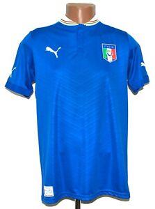 ITALY 2012/2013 HOME FOOTBALL SHIRT JERSEY PUMA SIZE 2XL BOYS