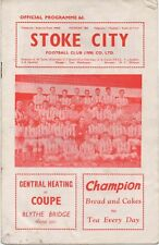 Mar 63 STOKE CITY v PRESTON NORTH END