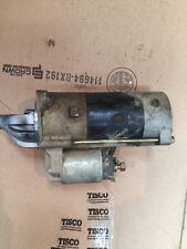 Used Mahindra Part # E550063015 Starter For 4110 Tractor