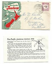 FDC Pan Pacific Jamboree Jan 1959 & Insert Used