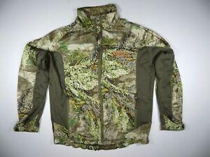 Scentlok Savanna EXT Large Camo Zip Up Light Jacket Shirt Advantage Max 1