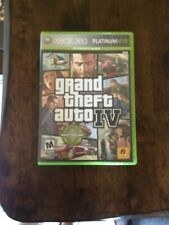 XBox 360 Grand Theft Auto IV Platinum Hits with Map and Booklet FREE SHIPPING