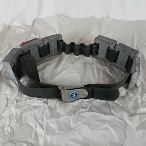 Vintage Scuba Diving Belt with Weights (22 lb)