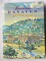 Honourable Estates: English and Their Country Houses by Heald, Tim Hardback The