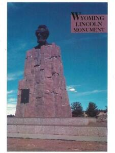 LINCOLN MONUMENT, CHROME, UNPOSTED, WY