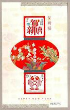 China 2007 New Year Special Use Souvenir Sheet