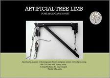 Portable game hoist/deer hoist/feeder hoist Artificial Tree Limb