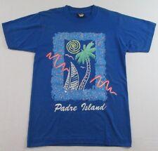 Nos Vintage 80's Padre Island Seashore Texas Vacation T Shirt Size M (Nwot)