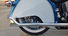 FISHTAIL CHROME EXHAUST PIPE EXTENSION INDIAN CHIEF VINTAGE ROADMASTER 1999-2002