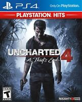 Uncharted 4: A Thief's End - PlayStation Hits Games - PlayStation 4