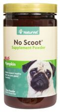 NaturVet No SCOOT Gently Supports Natural Bowel Function Powder 30 Day 155 Gram 797801027335