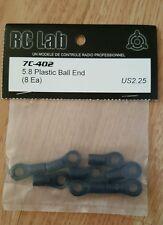 Rclab 7 anche 5.8 palla di plastica finisce vintage su strada 1/10th DRIFT RC Lab