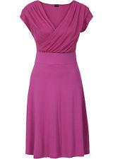 Wundervolles Kleid mit Wickeloptik und ausgestelltem Rockteil  Gr.44/46