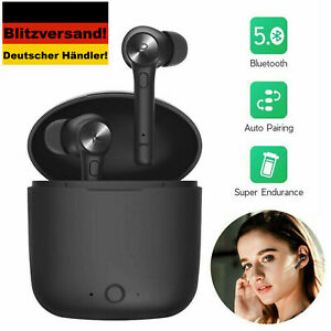 In Ear Pods mit Ladecase, Bluetooth 5.0 Ohrhörer, Android / IOS, Apple, Samsung