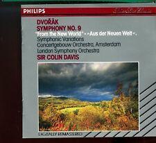 Dvorak / Symphony No.9 - Sir Colin Davis - Philips Silver Line Classics