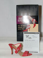 Just The Right Shoe by Lorraine Vail Shoe Miniatures- Cherry