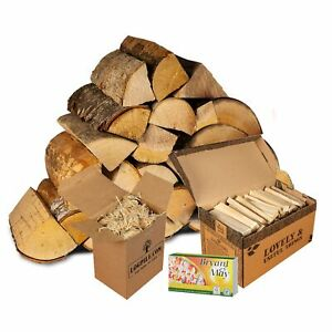 Pizza Oven Starter Kit. Pizza Oven Logs, Kindling, Firelighters and Matches.