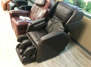 Osaki OS-Pro SOHO 4D S-Track Massage Chair Zero Gravity Space Saver Recliner BRN