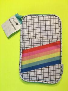 Yoobi Pencil Organizer Rainbow/checkered