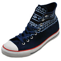 Converse Aztec Trainers Chuck Taylor Suede Hi Top Sneakers  Mens Size
