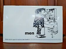Libro Completo De 1967 hombres Clip De Line Art Harry Volk Jr Art Studio-no 474