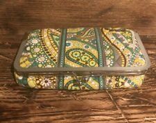 Vera Bradley Snap Close Make-up Case Lemon Parfait