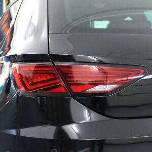 Feux Arrière Décor Protection Noir Brillant Seat Leon 5F Vfl Fl Étiquette D094