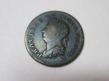 1823 Province of Nova Scotia Half Penny Token