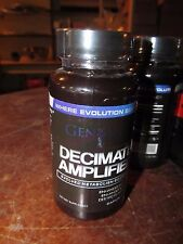 5 Bottles Genomyx Decimate Amplified-Fat Loss Increase Energy Diet