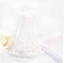 25/50/100Pcs Organza Wedding Party Favor Decor Gift Candy Bags Pouches Supplies