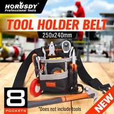 8 Pocket Slot Pouch Tool Belt Bag Utility Maintenance Electrician Carpenter