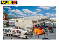 Faller H0 130785 Logistikhalle UPS - NEU + OVP